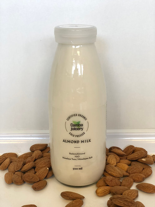 Organik Badem Sütü/Almond Milk 250ml/500ml