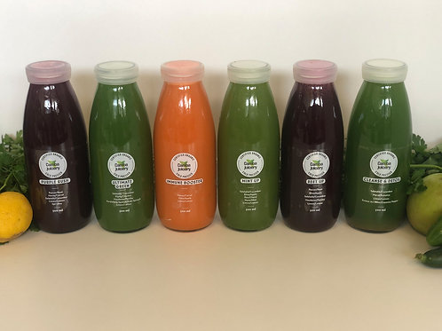 Sıvı Detoks Paketi (6 juice) / Cleanse with 6 juices