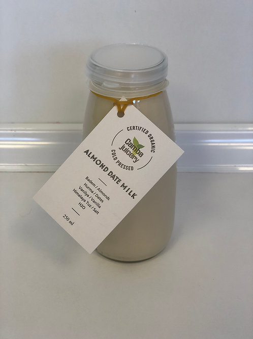 Hurmalı Badem Sütü/Almond Date Milk 250ml