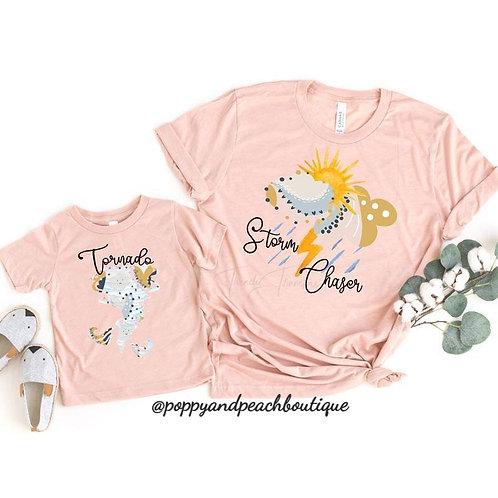 Storm Chaser Mama T-Shirt