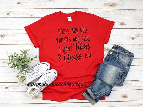 Tacos & Queso T-Shirt
