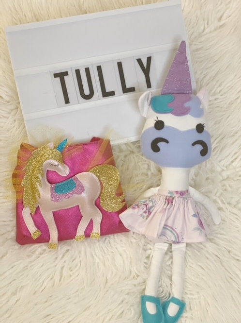 Tully Unicorn Doll