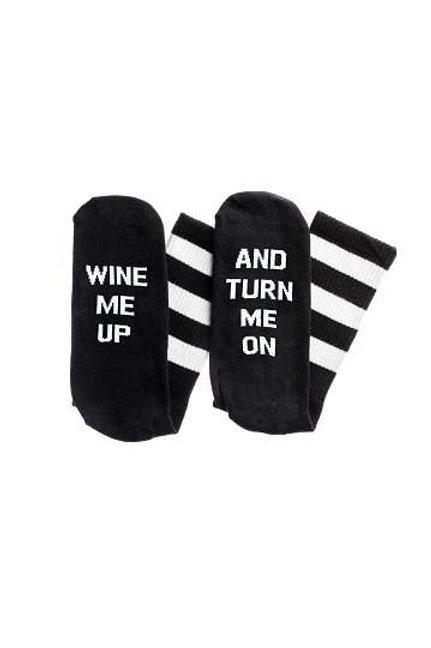 Wine Me Up Socks