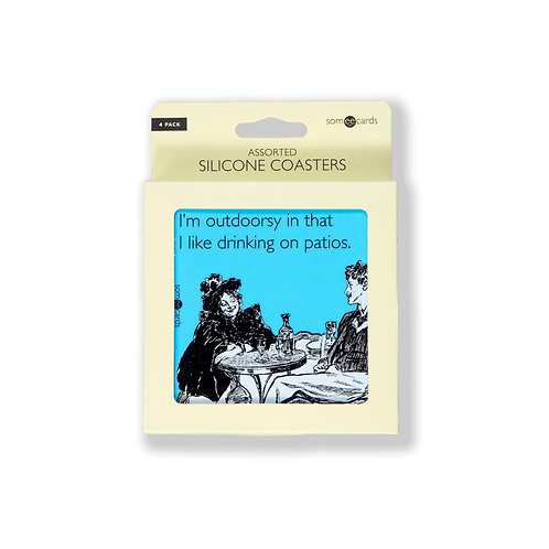 Someecards Silicone Coasters