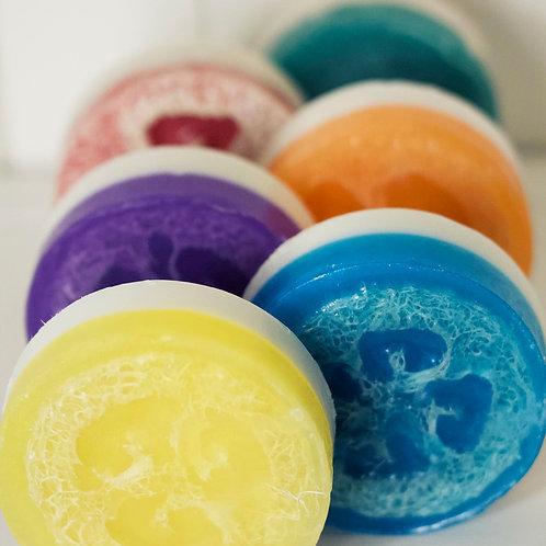 Loofah Soap Sweet Sunshine