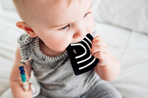 Modern Rainbow Teether