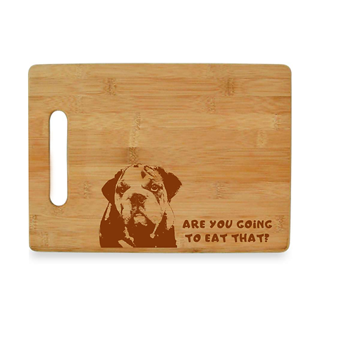 Bull Dog Cutting Board