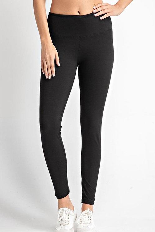 Black High Waist Yoga Leggings