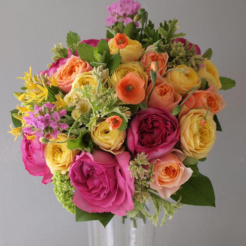 ~ハーブと初夏のお花を飾りましょう~