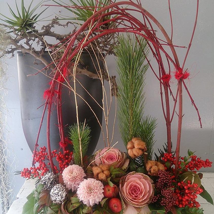12月・お正月花飾り