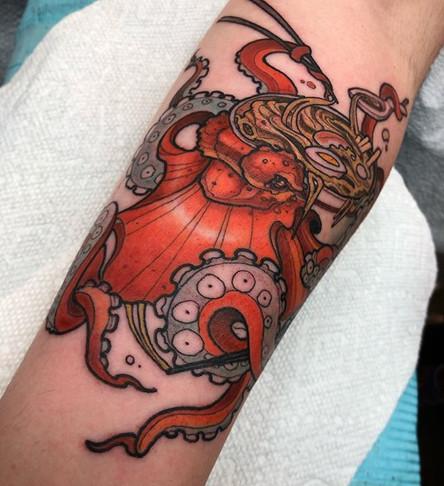 Ramen Octopus
