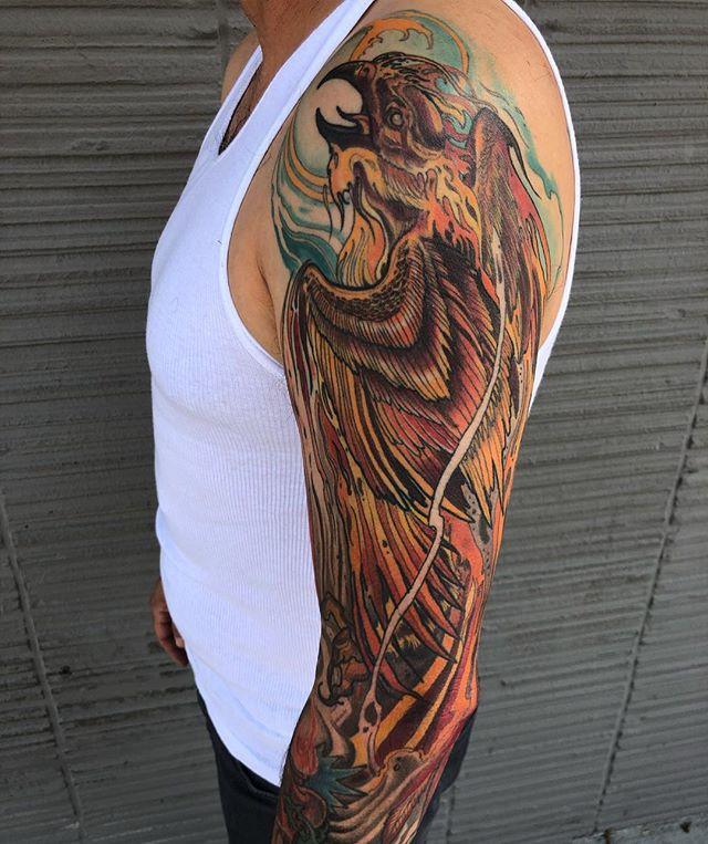 phoenix sleeve