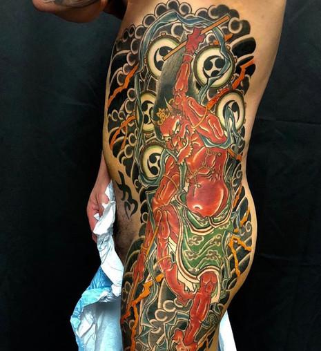 demon rib panel