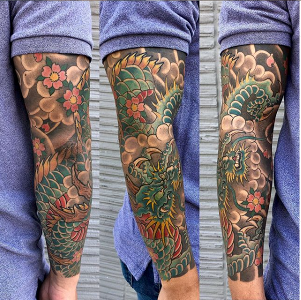 dragon sleeve