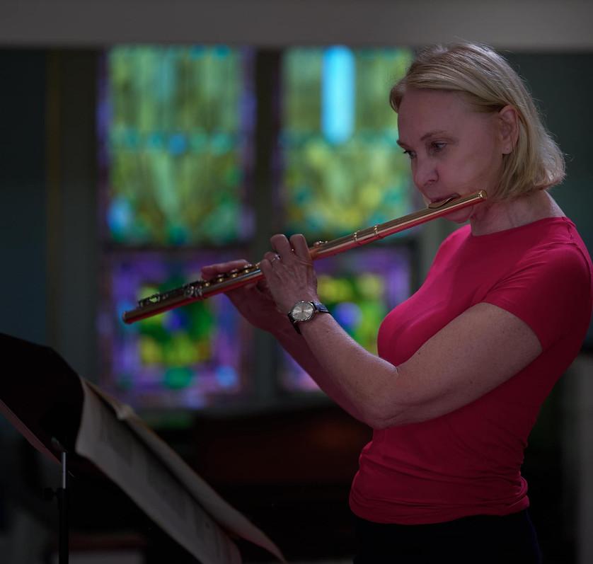 Marya Martin in Rehearsal
