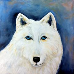 My Great Arctic Wolf  30x30cm