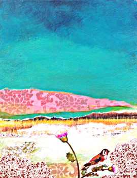 A morning by the sea 25.5x20cm