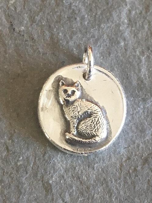 Cat Wax Seal Charm