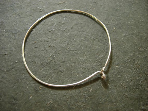 Silver or Bronze Charm Bracelet