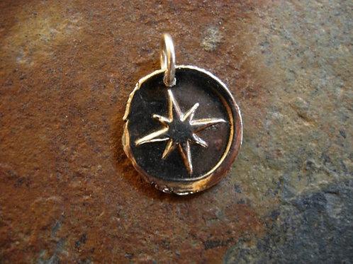 North Star Wax Seal Charm