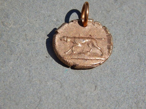 Pointer on the Moorland Wax Seal Charm