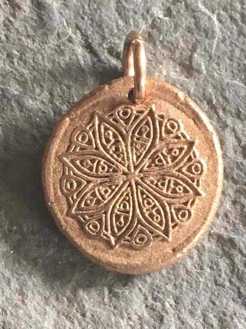 Mandala Wax Seal Charm