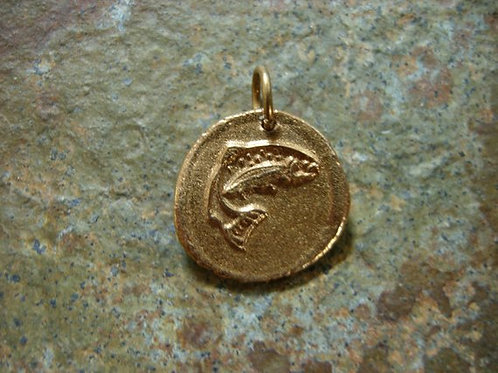 Trout Wax Seal Charm
