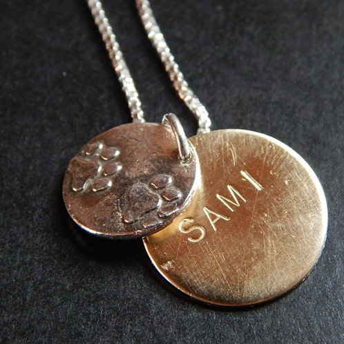 Beloved Pet Wax Seal Charm Necklace