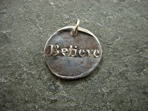 Believe Wax Seal Charm