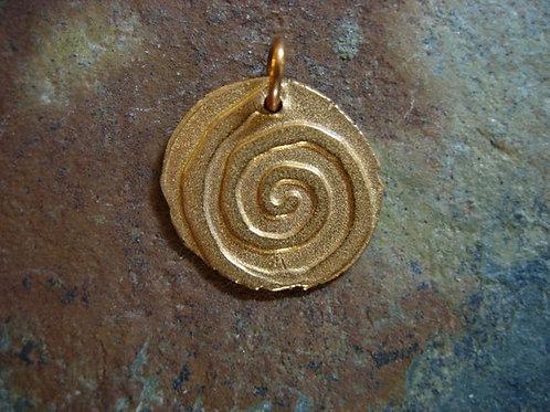 Spiral Wax Seal Charm