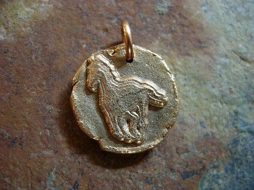 Horse Wax Seal Charm