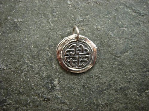 Celtic Knot Wax Seal Charm