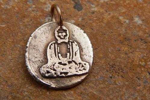 Buddha Wax Seal Charm