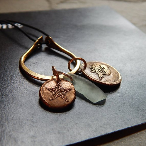 Create your Own Wax Seal Charm Necklac