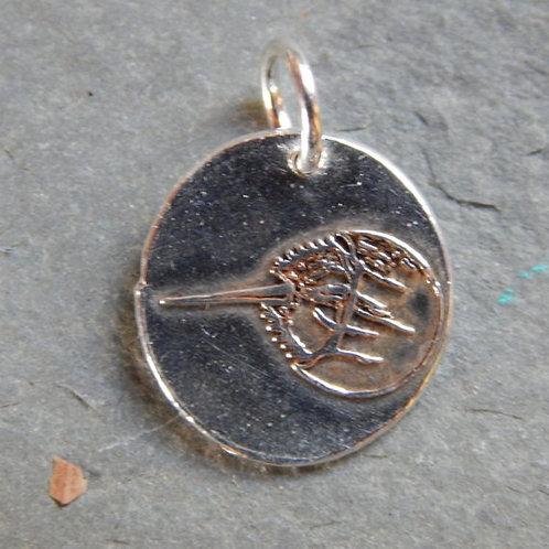 Horseshoe Crab Wax Seal Charm