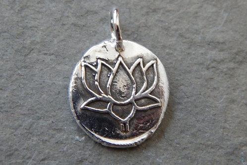 Lotus Wax Seal Charm
