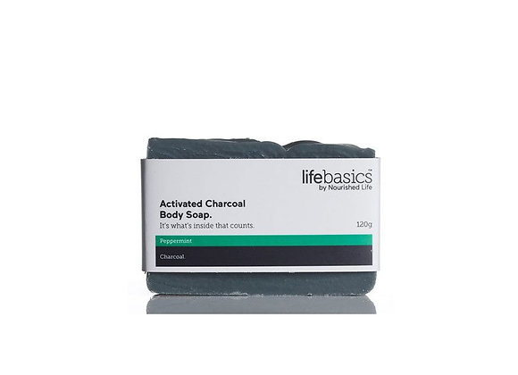 LIFE BASICS - ACTIVATED CHARCOAL SOAP