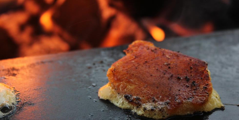 racklete cheese grilled to perfection
