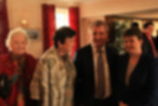 Ruth Davidson at the Annandale Arms Hotel