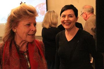 Vicky Jardine-Paterson and Svetlana Gorokhova