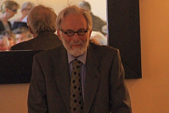 Professor Andrew Wheatcroft at the Annandale Arms Hotel