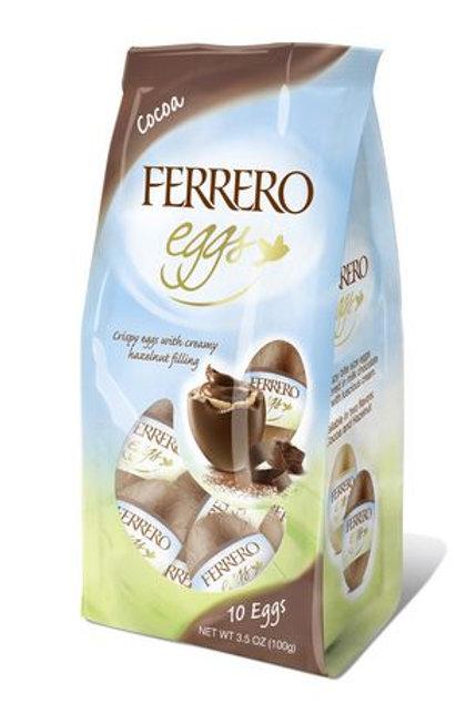 FERRERO OEUFS T10 CACAO   100G