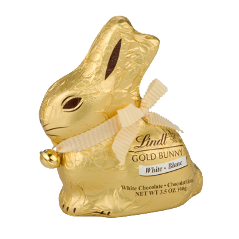 LINDT LAPIN DORE BLANC   100G