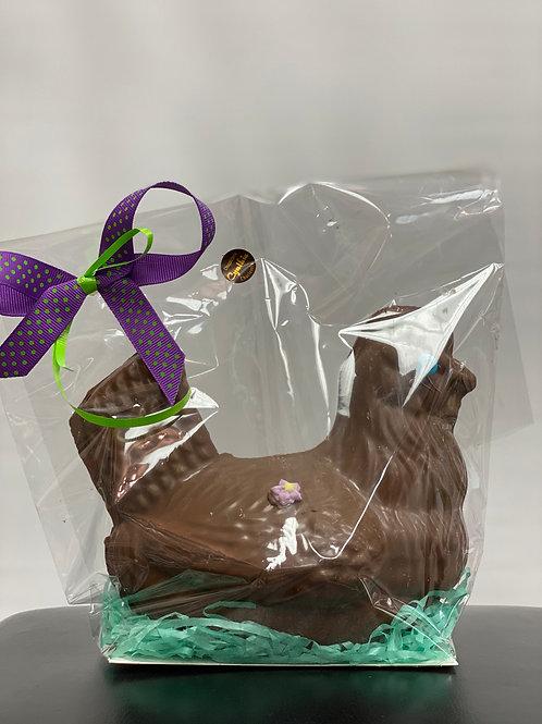 CHOCOLAT POULE DE LA CHOCOLATERIE  CYNTHIA