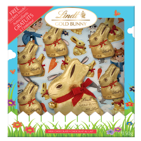 LINDT LAPIN DORE OEUF CAD 172G