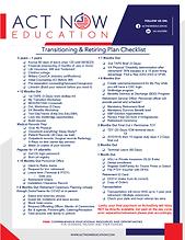 Transitioning & Retiring Plan Checklist1