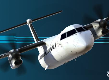 FlyJSim Q4XP External Artwork Now Complete