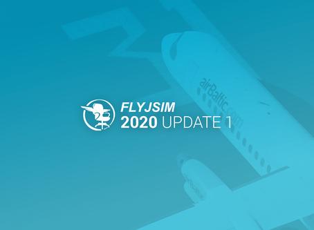 Developer Update 1 2020