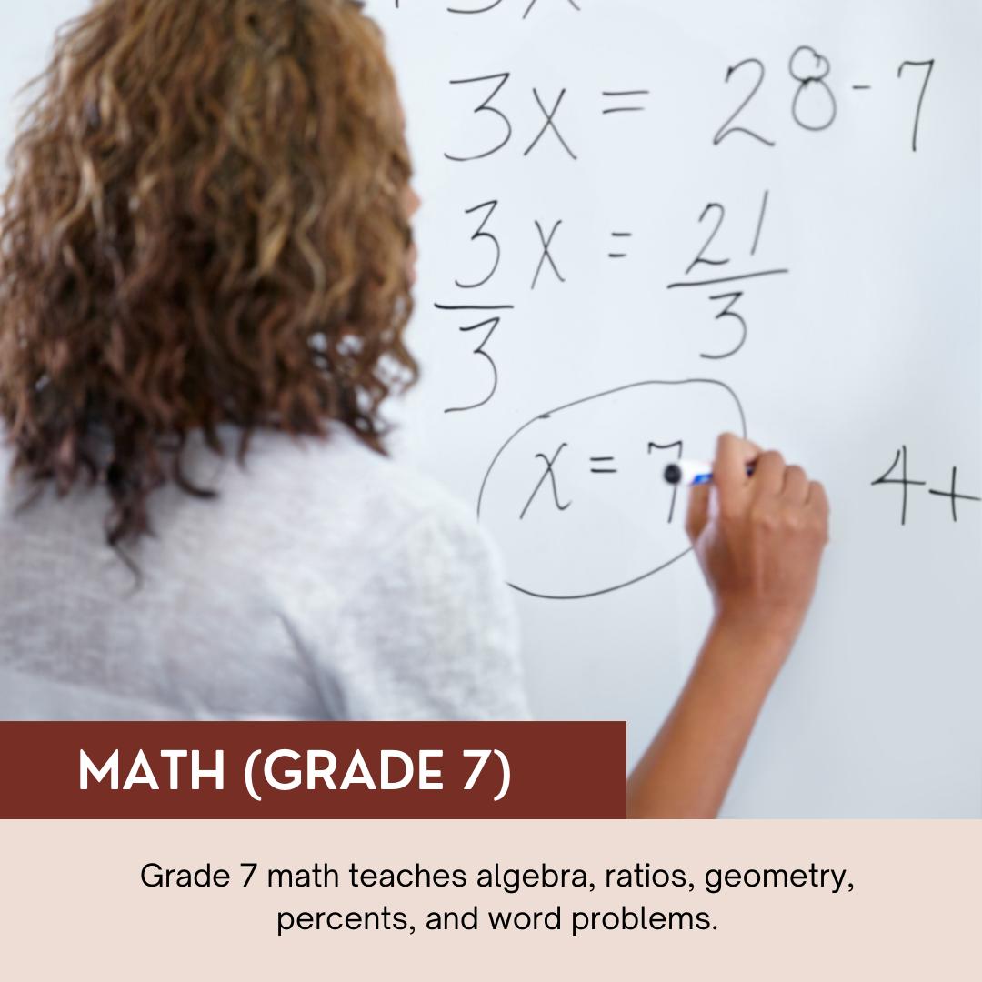 Math (Grade 7)