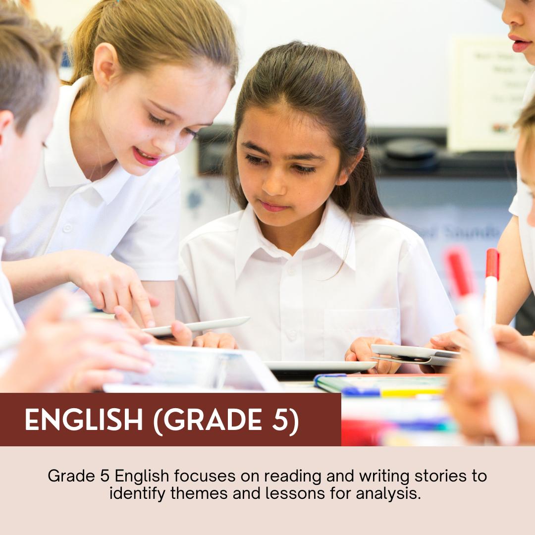 English (Grade 5)